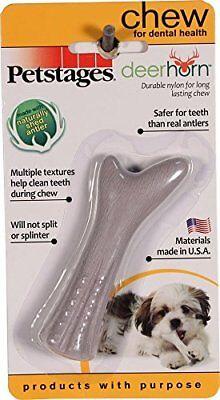 Petstages® deerhorn, Dental Chew Dog Toy size: Petite