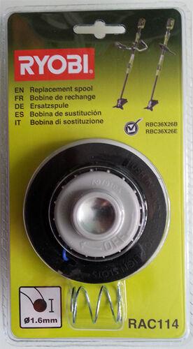 Ersatzspule RAC114 für Motorsense RBC3626B und RBC3626E für RYOBI