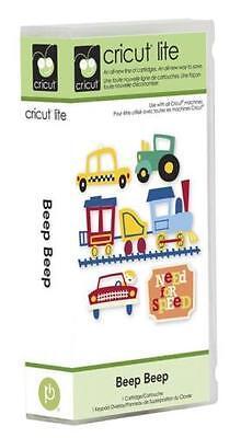 *New* BEEP BEEP Cars Trucks Boys Train Cricut Cartridge Factory Sealed Free Ship
