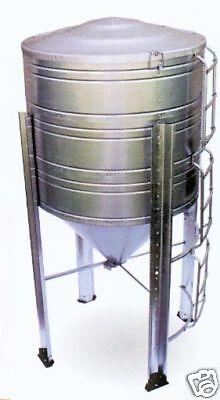 80 Bushel Corn Storage Bin Grain Bins / Corn Stove