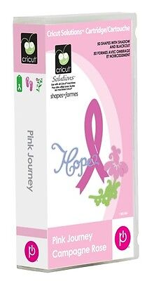 New  Pink Journey Breast Cancer Cricut Cartridge Free Ship Factory Sealed