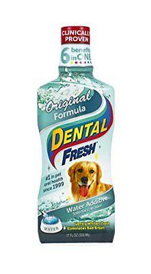Dog Cat Dental Fresh Breath Pet Mouth Wash Teeth Gum Oral Care Clear 17Oz Dental Fresh Dental Care