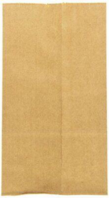 Novolex Duro Extra Heavy-duty Flat Bottom Paper Bag Kraft 6 Lb. 400pack