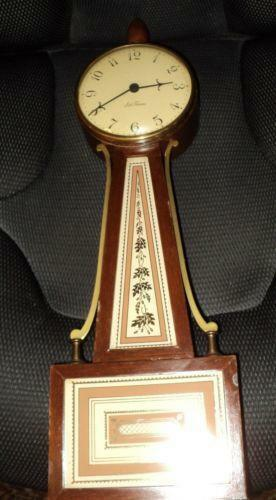 Seth Thomas Banjo Clock Ebay