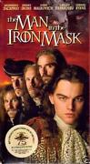 The Man in The Iron Mask VHS
