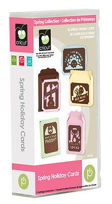 Cricut  Spring Holiday Cards  Seasonal Image Collection Machine Cartridge  New