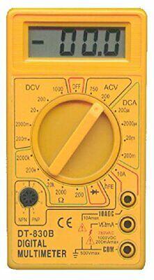 Used Dt830b Lcd Digital Voltmeter Ammeter Ohm Multimeter Tester