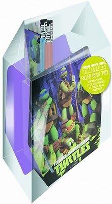 Teenage Mutant Ninja Turtles Gefüllt Schreibwaren Schreibtisch Aufgeräumt ()