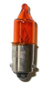 une ampoule de clignotant orange plot d cal s 12v 10w moto scooter bau9s ebay. Black Bedroom Furniture Sets. Home Design Ideas
