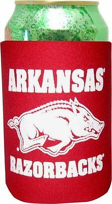 Arkansas University Razorbacks Can Coolie Koozie Bottle College Football