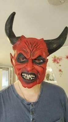 Halloween Devil Fancy Dress Mask Plus Trident & - Kostüme Trident