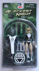 Blackest Night Terra with Scar Action Figure, never been opened
