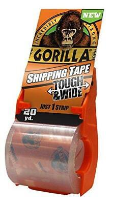 Gorilla Packing Tape Tough Wide With Dispenser For Moving Shipping And