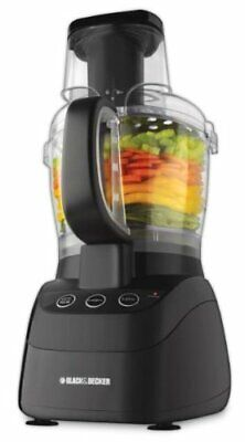 Black & Decker 500-Watt Wide-Mouth Food Processor Model FP25