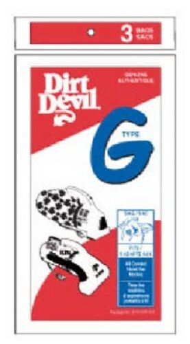 """Dirt Devil, """"G"""" Hand Vacuum Paper Bag Pack of 18"""