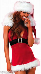 Girls-Ladies-Stunning-Christmas-Summer-Mini-Dress-Costume-Xmas-in-July