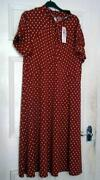 Polka Dot Dress Size 22