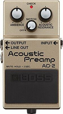 BOSS AD-2 Acoustic Preamp New F/S