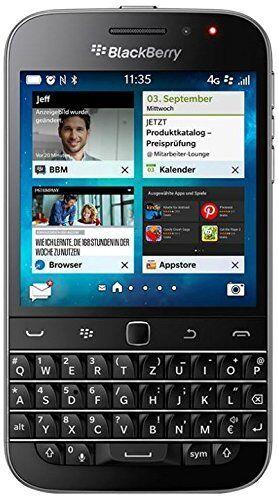 RIM Blackberry Classic Q20 QWERTZ - Smartphone ohne Simlock -Wie neu -Schwarz