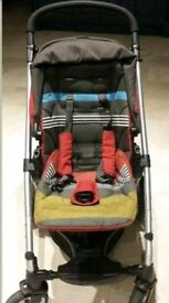 Mamas and Papas Sola Travel System in Cherry Red