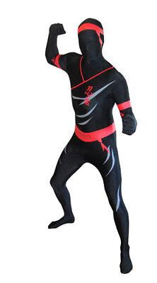 Deluxe Ninja Skintight Bodysuit Morphsuits Costume