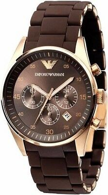 **USA SELLER** Emporio Armani EA Sportivo Chronograph AR5890 Watch for Men - NEW