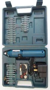 60Pc Mini Drill and Grinder Set / Engraver Kit - Ceramic/Glass/Metal/Wood etc
