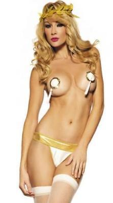 Sexy Halloween Greek Princess Goddess Pastie Costume FOR WOMEN!