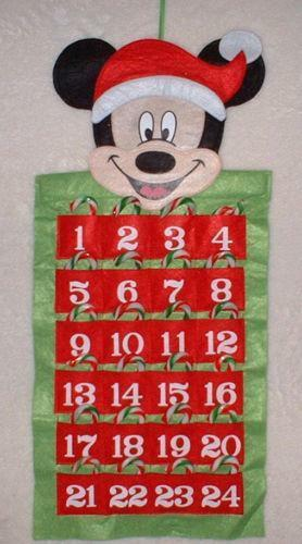disney advent calendar ebay. Black Bedroom Furniture Sets. Home Design Ideas