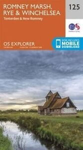 Ordnance Survey-Romney Marsh, Rye And Winchelsea  AC NEW