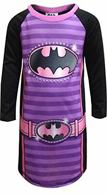 DC Comics Batgirl Logo Nightgown for Little Girls