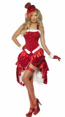 Smiffys Santa Baby Burlesque xmas fancy dress (Burlesque Baby Kostüm)