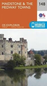 Ordnance Survey-Maidstone And The Medway Towns  AC NEW