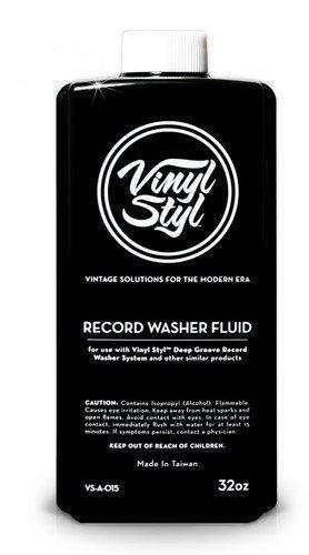 8 oz VINYL STYL Record Cleaning Fluid Anti-Static Solution CLEAN ALBUMS