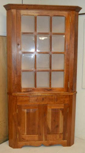 Antique Corner Hutch Ebay