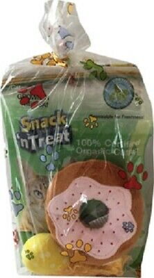 NEW! CAT TOY GIFT BAG PLUSH DONUT CUPCAKE COMETS + EXTRA CATNIP ()