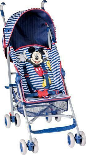 mickey mouse pushchair ebay