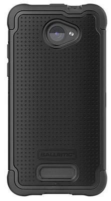 Ballistic SG Shell Gel Black Rugged Case Cover for HTC Droid DNA, SG1007-M005 Sg Shell Gel