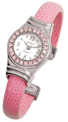 Geneve Birthstone Pink Bangle Women's Watch $34.99  - GREAT GIFT -