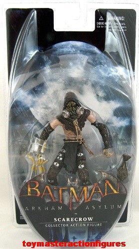 arkham asylum scarecrow action figures ebay