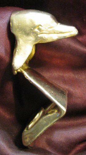 DOLPHIN Wall Mounted Bottle Opener in Bronze