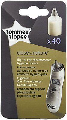 Tommee Tippee Closer to Nature Hygienekappen für digitales Ohrthermometer NEU