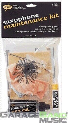 Herco HE108 Saxophone Maintenance Cleaning Kit