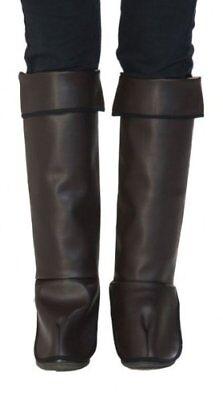 Rubies 11302 - Kinderstulpen Gr. 104/110, Stiefel Galoschen, Kostüm - Stiefelstulpen Kostüm Zubehör