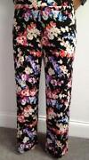 Floral Wide Trousers