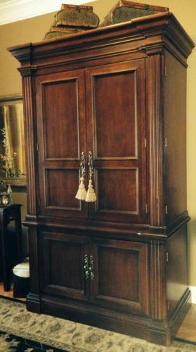 Solid Wood Computer Armoire ~ Solid wood armoire ebay