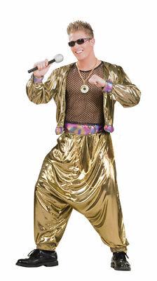 Superstar Halloween Costumes (80's Video Super Star Adult Mens Halloween)