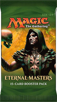 MTG Eternal Masters Booster Pack Sealed Magic the Gathering  FREE SHIPPING