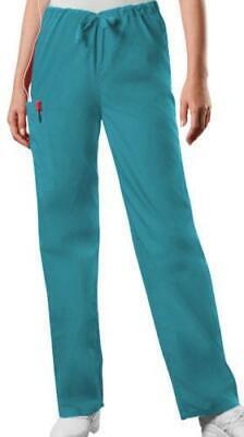CHEROKEE 4100 Scrubs CARIBBEAN workwear UNISEX Men Women Drawstring  Pants NEW 4100 Unisex Drawstring Pant