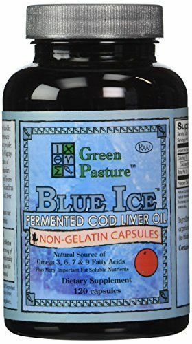 Green Pasture Products Blue Ice Fermented Cod Liver Oil O...